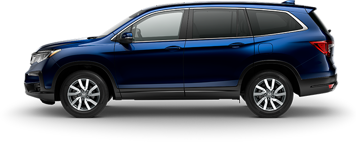 2019 Honda Pilot EX-L in Obsidian Blue Pearl