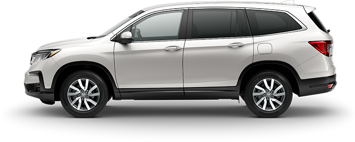 2019 Honda Pilot EX in White Diamond Pearl