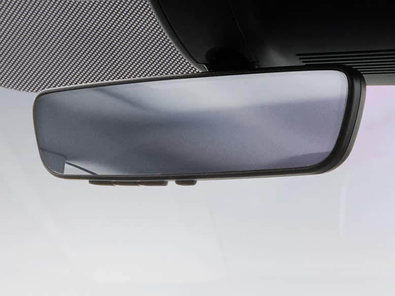 2019 Honda Civic automatic-dimming rearview mirror