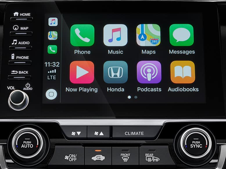 2019 Honda Civic with Apple CarPlay Integration