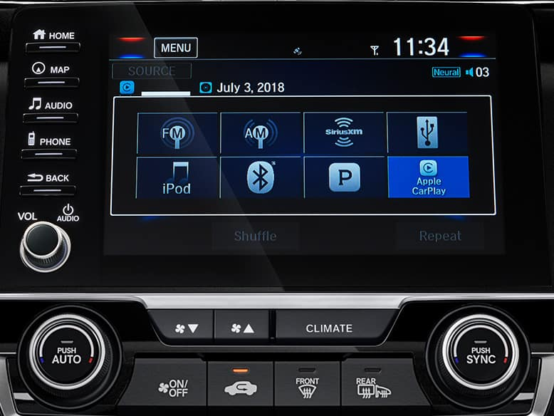 2019 Honda Civic with Bluetooth Streaming Audio