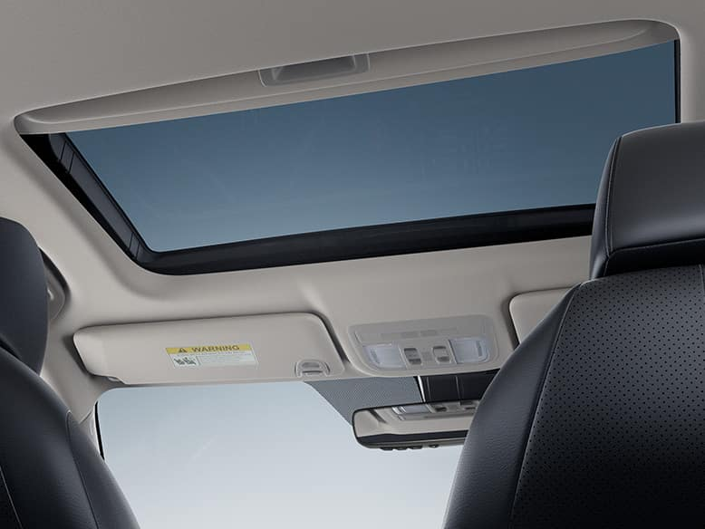 2019 Honda Civic One-Touch Power Moonroof