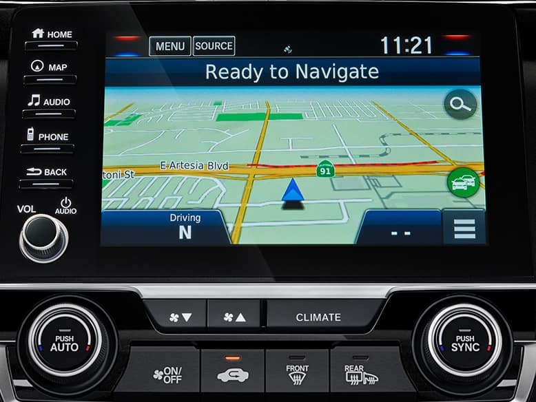 2019 Honda Civic With Honda Satellite-Linked Navigation