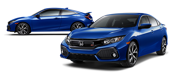 2019 Honda Civic Si Aegean Blue Metallic