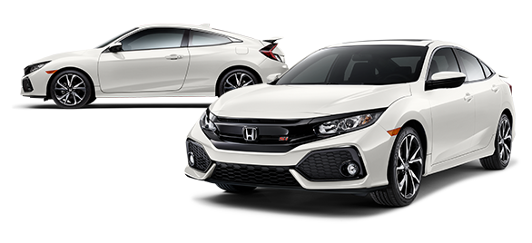 2019 Honda Civic Si Platinum White Pearl
