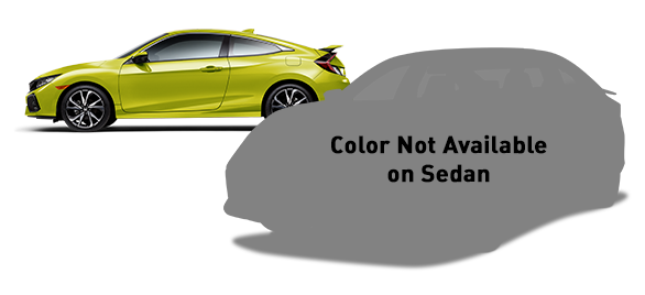2019 Honda Civic Si Coupe Tonic Yellow Pearl