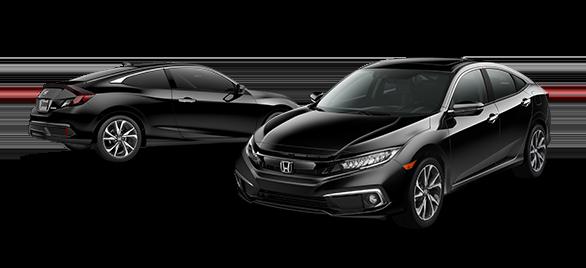 2019 Honda Civic Crystal Black Pearl