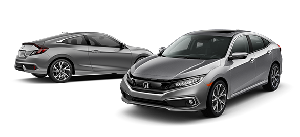 2019 Honda Civic Lunar Silver Metallic