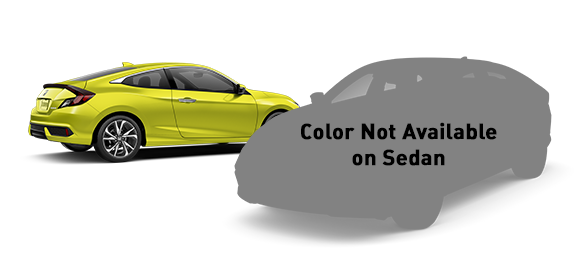 2019 Honda Civic Tonic Yellow Pearl