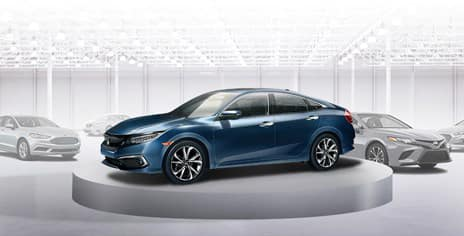 2019 Honda Civic Sedan versus the competition