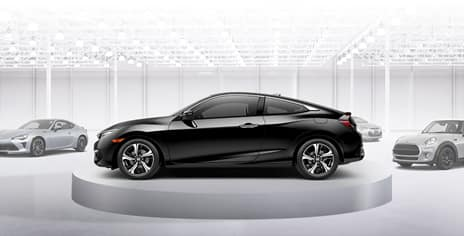 2019 Honda Civic Coupe versus the competition