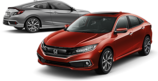2019 Civic Sedan and Coupe Touring