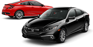 2019 Honda Civic Coupe and Sedan EX