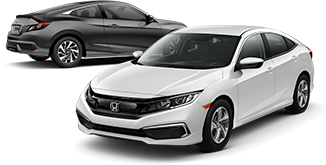 2019 Honda Civic Coupe and Sedan LX