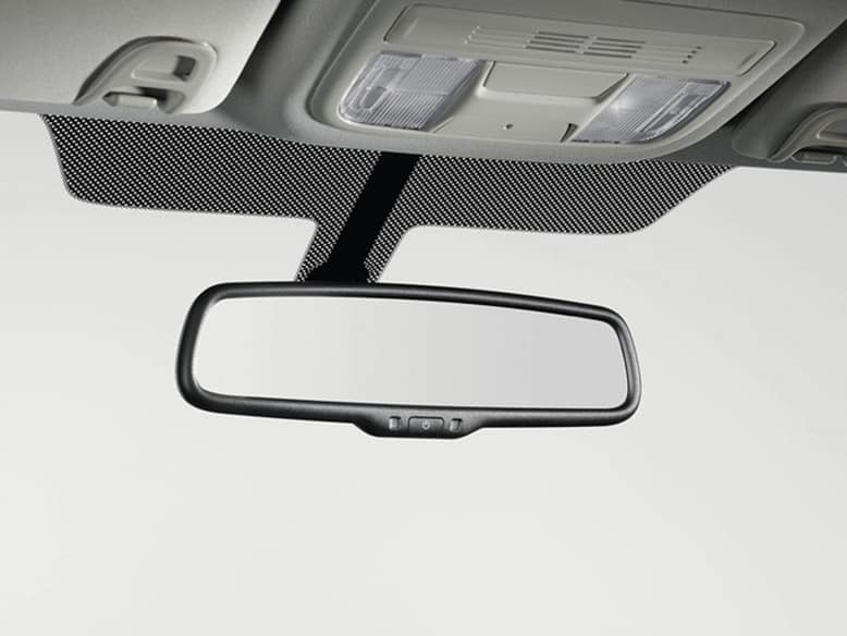 2019 Honda Civic Hatchback with Automatic Dimming Rearview Mirror
