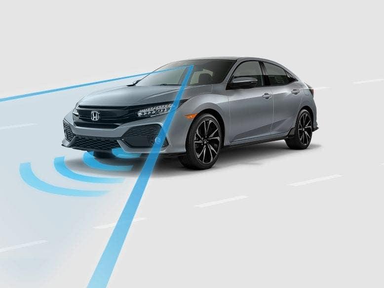 2019 Honda Civic Hatchback Honda Sensing
