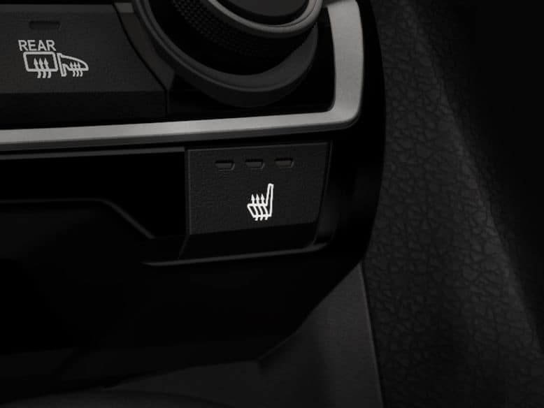 2019 Honda Civic Hatchback with heated front seats