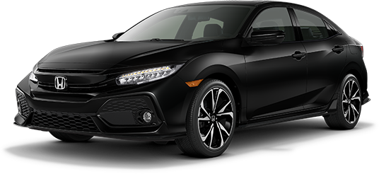 2019 Honda Civic Hatchback Crystal Black Pearl