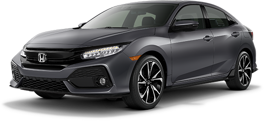 2019 Honda Civic Hatchback Polished Metal Metallic