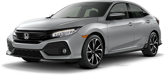 2019 Honda Civic Hatchback Lunar Silver Metallic
