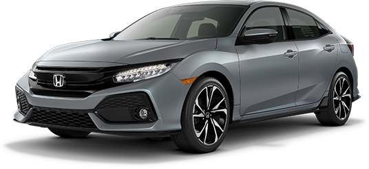 2019 Honda Civic Hatchback Sonic Gray Pearl