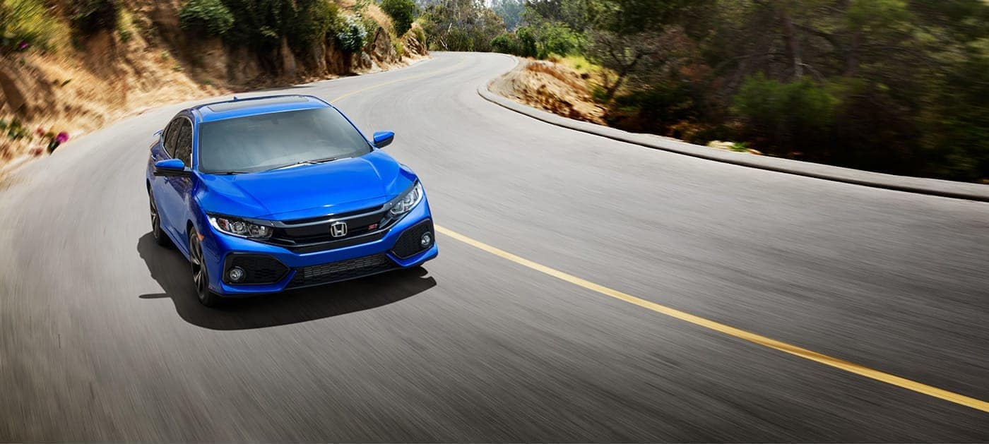 2019 Honda Civic Si aegean blue