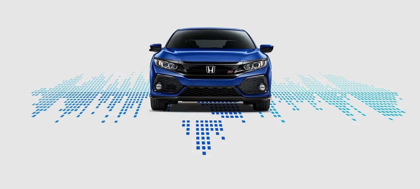 2019 Honda Civic Si connected audio