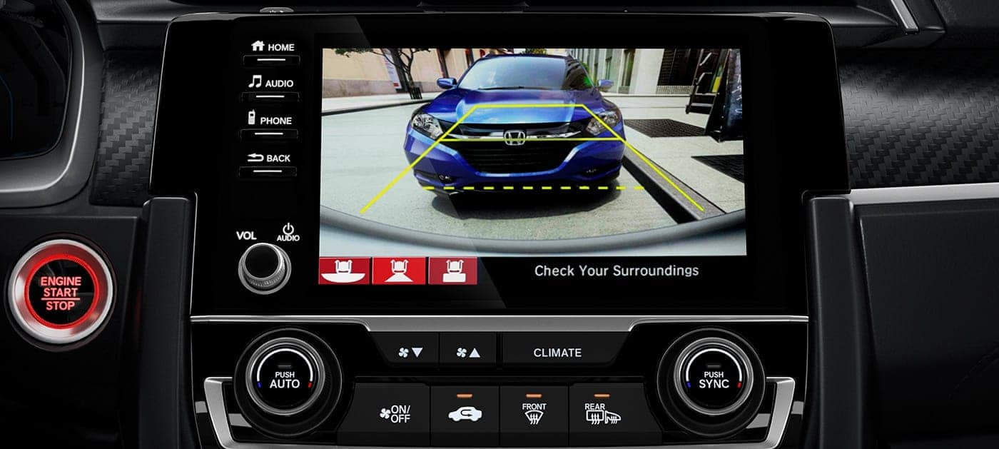 2020 Honda Civic Si multi-angle rearview camera
