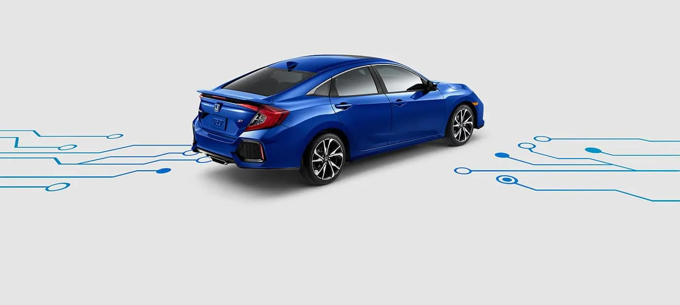 2019 Honda Civic Si technology