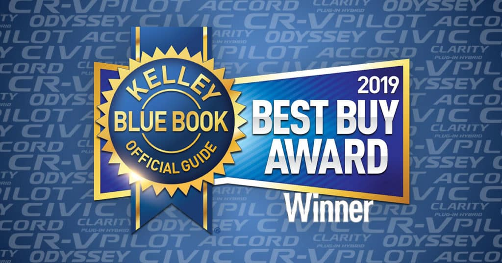 KBB.com's 2019 Best Buy Award Winner