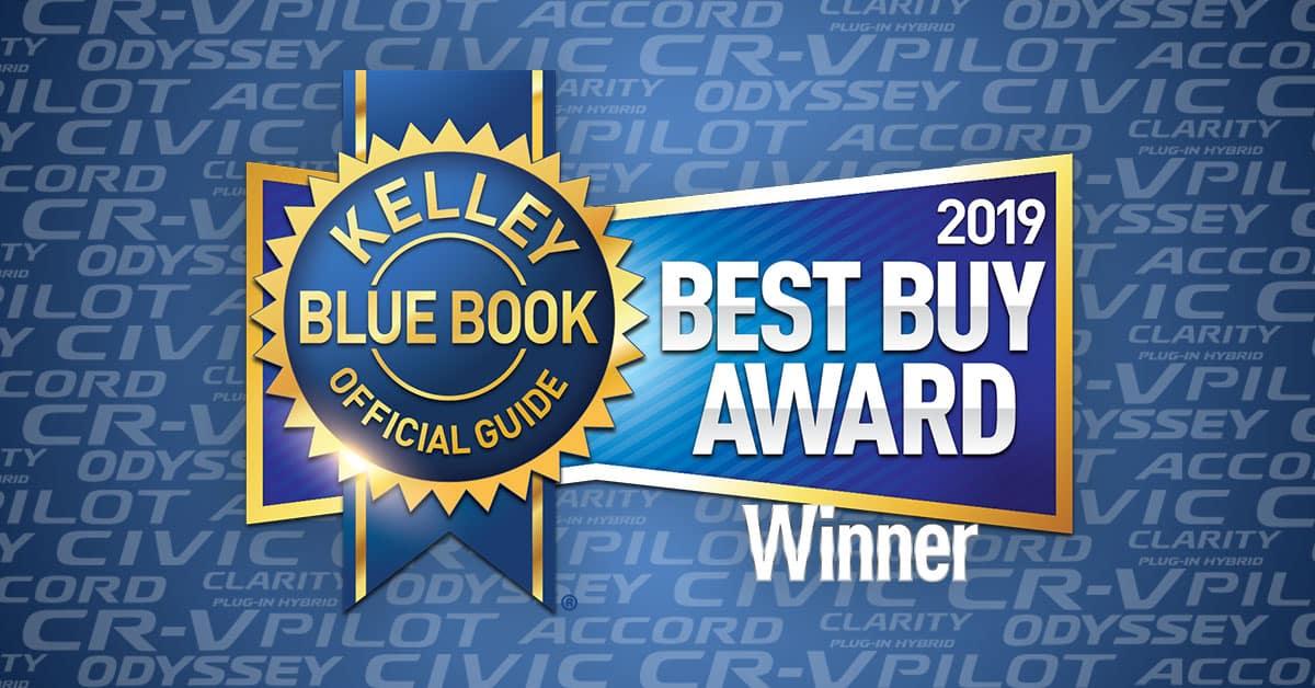 ad61d0dd98 Honda Dominates 2019 Kelley Blue Book Best Buy Awards