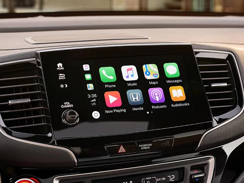 2020 Honda Passport with Apple CarPlay and Android Auto Integration