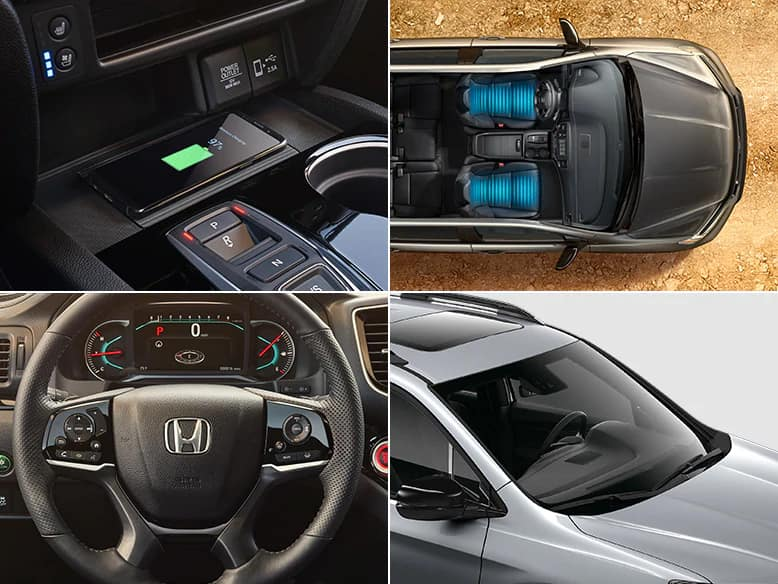 2020 Honda Passport Elite features