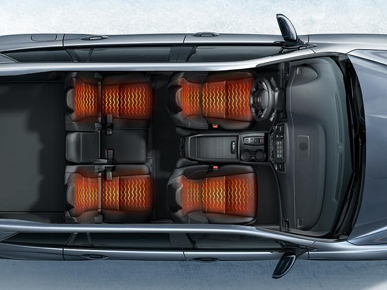 2020 Honda Passport with heated front and rear seats