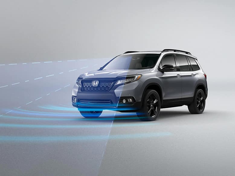 2020 Honda Passport with standard Honda Sensing
