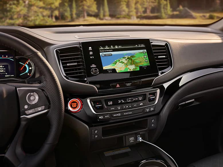 2020 Honda Passport Satellite-Linked Navigation System
