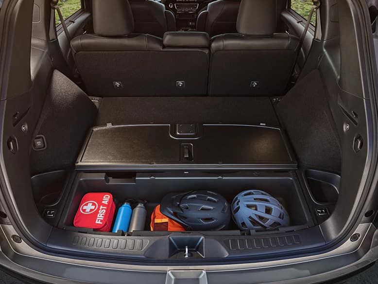 2020 Honda Passport with Underfloor Storage