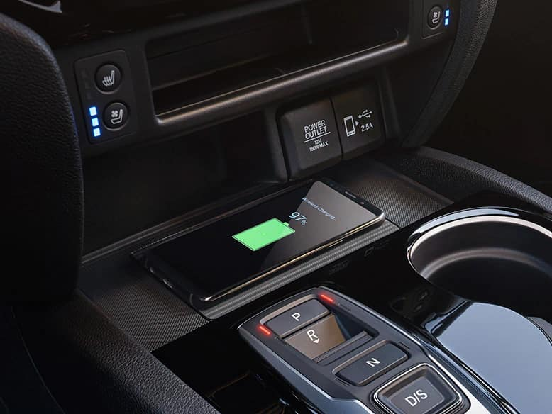 2020 Honda Passport with wireless phone charger