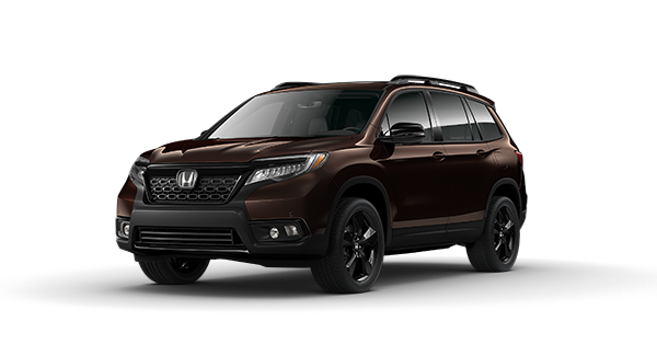 2020 Honda Passport in Black Copper Pearl