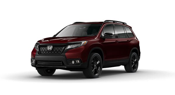 2020 Honda Passport in Deep Scarlet Pearl