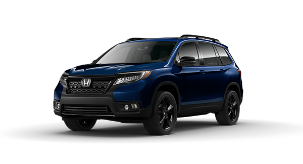 2020 Honda Passport in Obsidian Blue Pearl