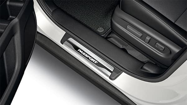 2020 Honda Passport with illuminated door sill trim