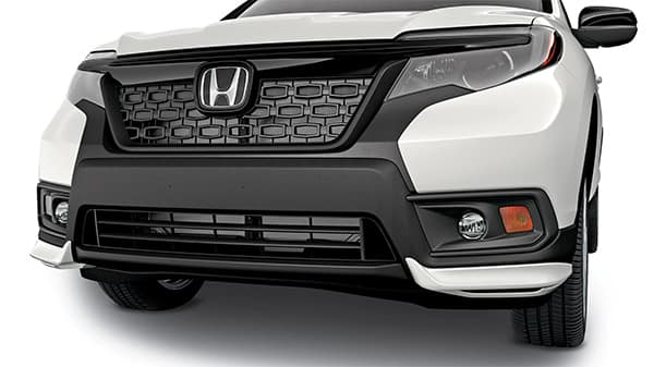 2020 Honda Passport with front underbody spoiler