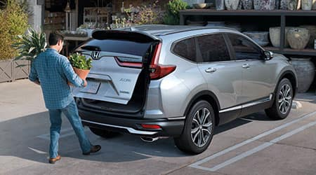 2020 Honda CR-V handsfree power tailgate