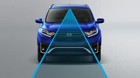2021 Honda CR-V with Honda sensing suite of safety technology