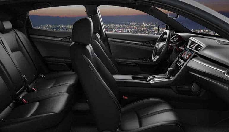 2020 Honda Civic Hatchback with Leather Trimmed Interior