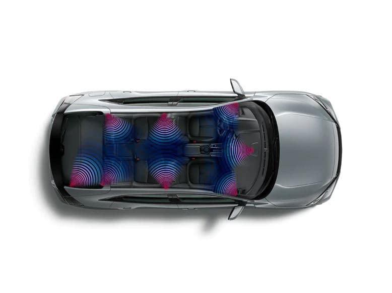 2020 Honda Civic hatchback with 540-watt premium audio system