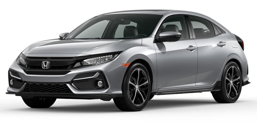 2020 Honda Civic Hatchback Lunar Silver Metallic