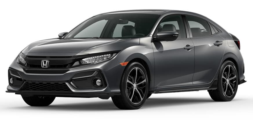 2020 Honda Civic Hatchback Polished Metal Metallic