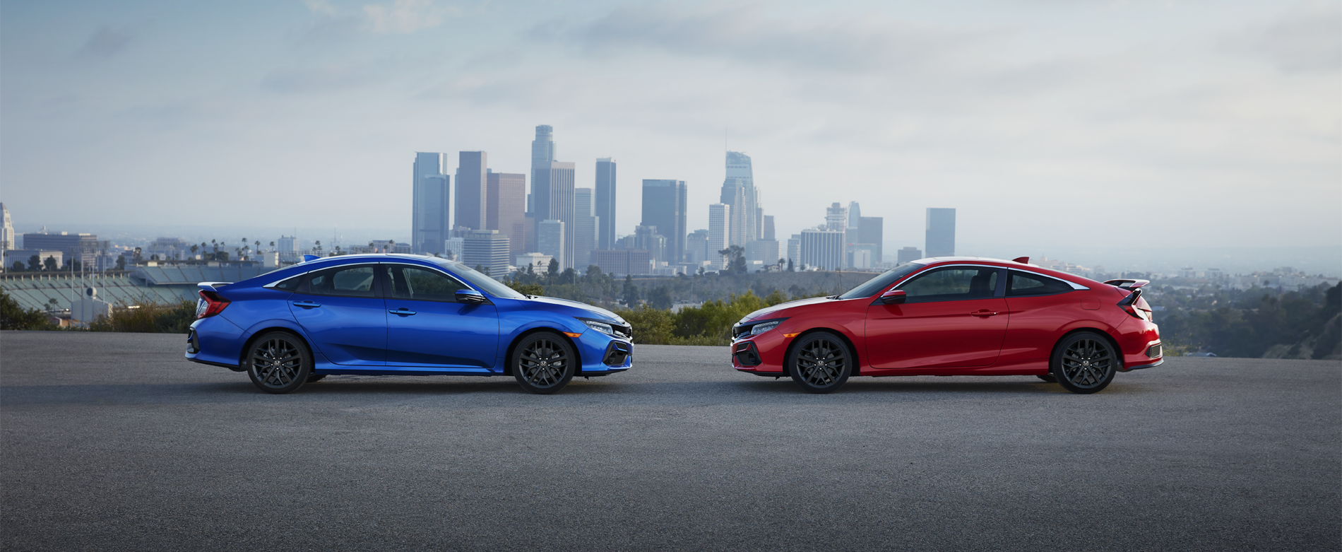 2020 Honda Civic Sedan and Coupe